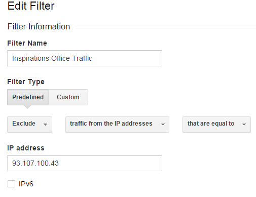 seo ireland analytics Filters